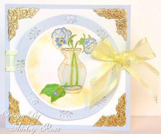 F6010 Pansy Vase