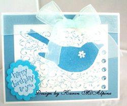 Karen McAlpine - Blue Challenge