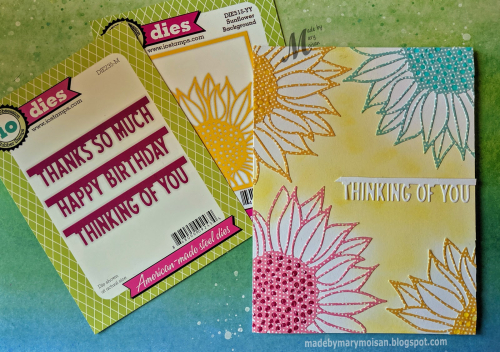 Aug2019 -  hot colors flower card by mary moisan for IO challenge - products