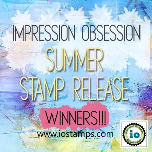 Summer Stamp hop winners